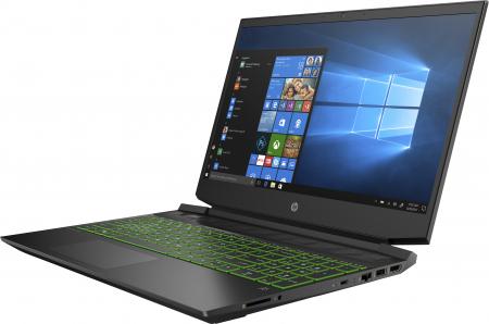 "Laptop HP Pavilion, 15.6"" Full HD, Ryzen 5 5600H (pana la 4.2 GHz), 8 GB RAM, 512 GB SSD, NVIDIA® GeForce RTX™ 3050 Ti 4GB, Windows 10 Home, Black [1]"
