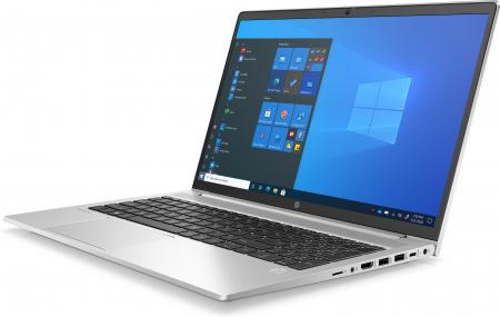 """Laptop HP ProBook 450 G8, 15.6"""" Full HD, i5 1135G7 (pana la 4.7 GHz), 8 GB RAM, 256 GB SSD, NVIDIA® GeForce MX450 2 GB ,Windows 10 Pro, Silver [1]"""