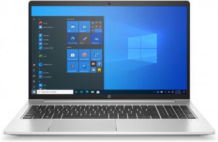 """Laptop HP ProBook 450 G8, 15.6"""" Full HD, i5 1135G7 (pana la 4.7 GHz), 8 GB RAM, 256 GB SSD, NVIDIA® GeForce MX450 2 GB ,Windows 10 Pro, Silver [0]"""