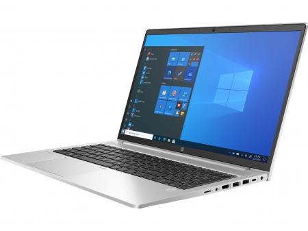 """Laptop HP ProBook 450 G8, 15.6"""" Full HD, i7 1165G7 (pana la 4.7 GHz), 8 GB RAM, 256 GB SSD, NVIDIA® GeForce MX450 2GB, Windows 10 Pro, Silver [1]"""