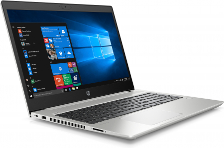 "Laptop HP Probook 455 G7, 15.6"" Full HD, Ryzen 7 4700U (pana la 4.1 GHz), 16 GB RAM, 512 GB SSD, Windows 10 Pro, Silver [1]"