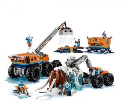 Lego City  Baza mobila de explorare arctica 601959