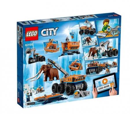 Lego City  Baza mobila de explorare arctica 601956