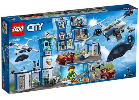 LEGO® City: Baza poliției aeriene 602101