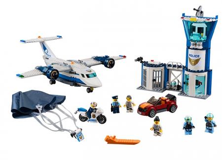 LEGO® City: Baza poliției aeriene 602100