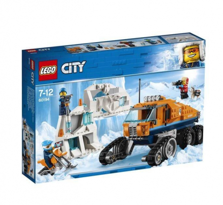 Lego City  Camion arctic de cercetare 601949