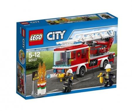 Lego City Camion de pompieri cu scara 601070