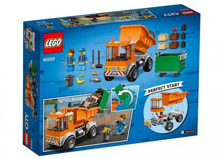 LEGO® City: Camion pentru gunoi 602201