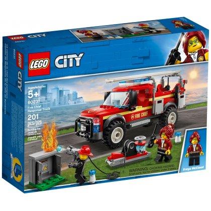 LEGO® City : Camionul de interventie al comandantului pompierilor 60231 [1]