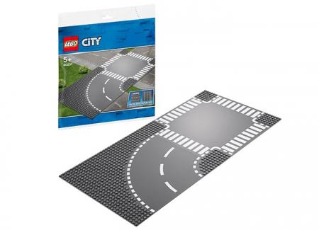 LEGO® City: Curbă și intersecție 602371