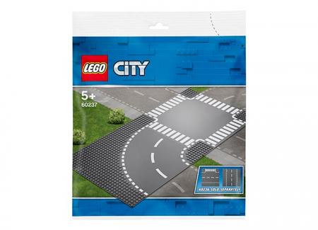 LEGO® City: Curbă și intersecție 602372
