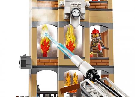 LEGO® City: Divizia pompierilor din centrul orașului 60216 [2]