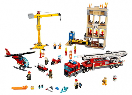 LEGO® City: Divizia pompierilor din centrul orașului 60216 [0]