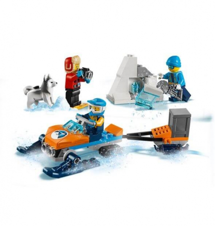 Lego City  Echipa arctica de explorare 601918