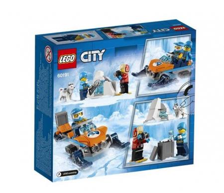 Lego City  Echipa arctica de explorare 601919