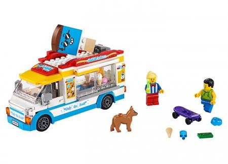 LEGO® City: Furgoneta cu inghetata 602534