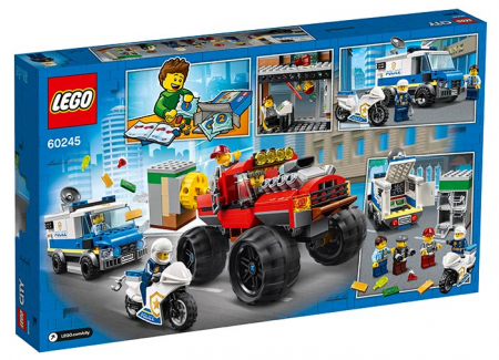 LEGO® City: Furtul cu Monster Truck 60245 [1]