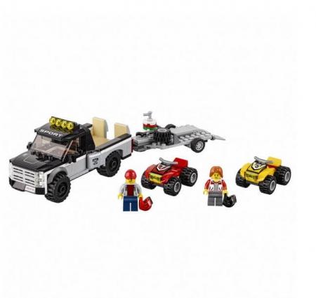 Lego City Great Vehicles Echipa de curse pe ATV 601481