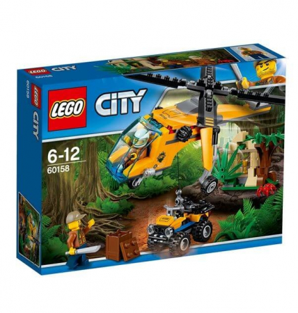 Lego City Great Vehicles Elicopter de marfa in jungla 601580
