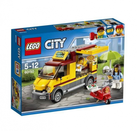 Lego City Great Vehicles Furgoneta de pizza 601500