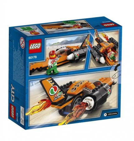LEGO® City Great Vehicles Masina de viteza 60178 [11]