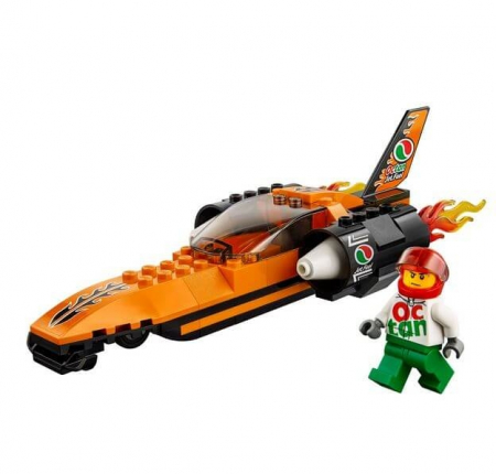 LEGO® City Great Vehicles Masina de viteza 60178 [1]