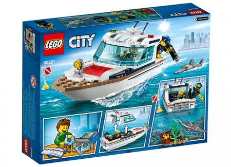 LEGO® City: Iaht pentru scufundări 60221 [1]