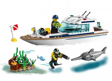 LEGO® City: Iaht pentru scufundări 60221 [2]