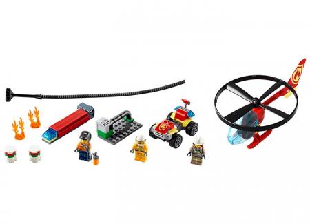 LEGO® City: Interventie cu elicopterul de pompieri 60248 [1]