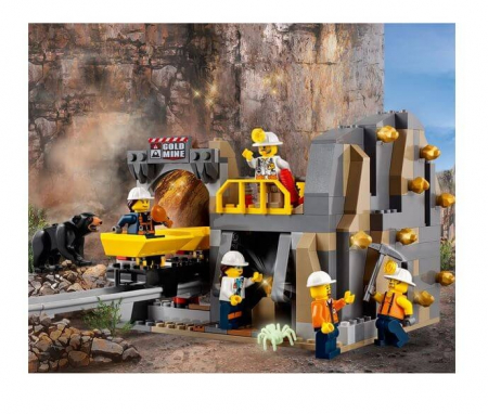 Lego City Mining Amplasamentul minerilor experti 601883