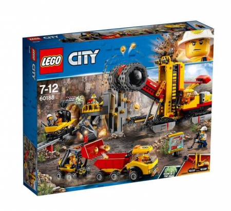 Lego City Mining Amplasamentul minerilor experti 601880