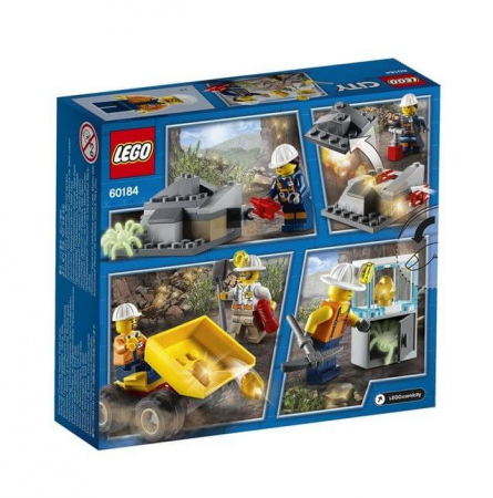 Lego City Mining Echipa de minerit 601842