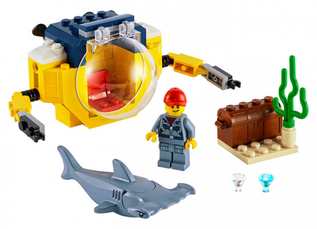 LEGO City - Minisubmarin oceanic 60263, 41 piese [0]