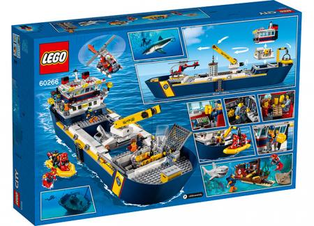 LEGO® City: Nava de explorare a oceanului 60266 [1]