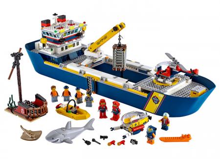 LEGO® City: Nava de explorare a oceanului 60266 [0]
