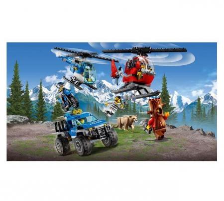Lego City Police Cartierul general al politiei montane 601743