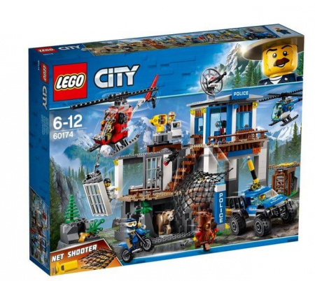 Lego City Police Cartierul general al politiei montane 601740