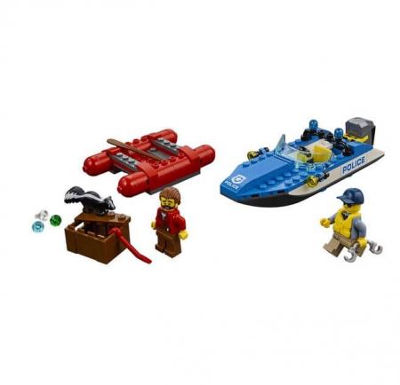 Lego City Police Evadare pe rau 601761