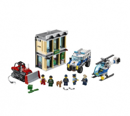 LEGO® City Police Spargere cu buldozerul 60140 [1]