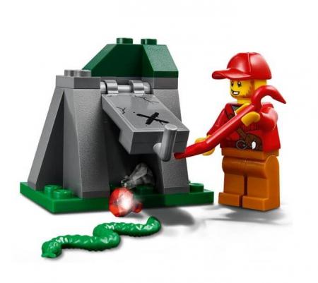 Lego City Police Urmarire cu masina de teren 601704