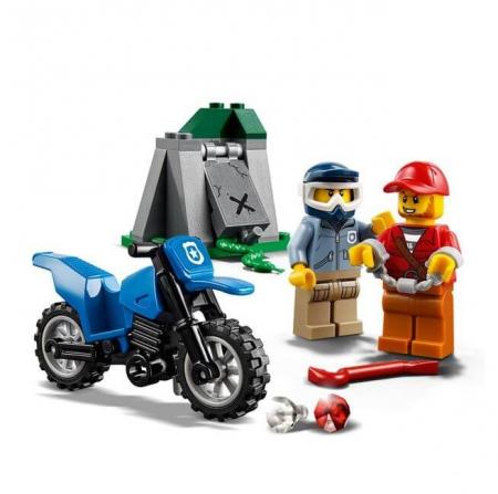 Lego City Police Urmarire cu masina de teren 601703