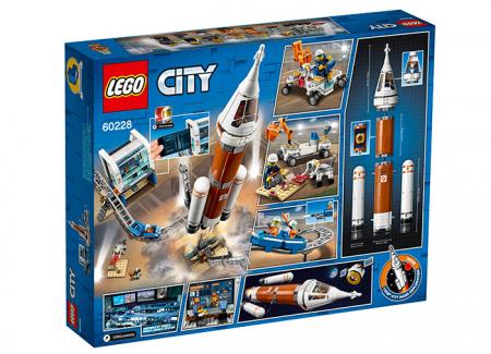 LEGO® City : Racheta pentru spatiul indepartat si Centrul de comanda a lansarii 602281