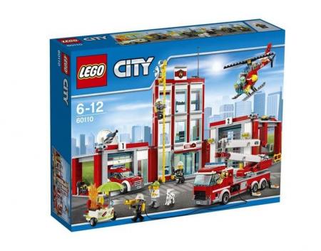 Lego City Remiza de pompieri 601100
