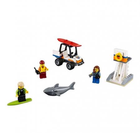 Lego City Set pentru incepatori Garda de coasta 601631
