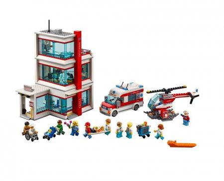Lego City  Spitalul LEGO  City 602043