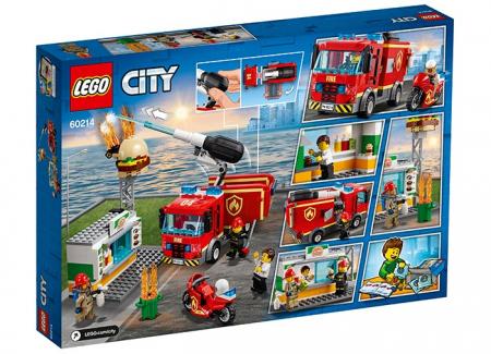 LEGO® City: Stingerea incendiului de la Burger Bar 60214 [1]