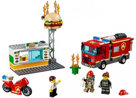 LEGO® City: Stingerea incendiului de la Burger Bar 60214 [0]