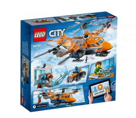 Lego City  Transport aerian arctic 601937