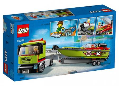 LEGO® City: Transportor de barca de curse 602541