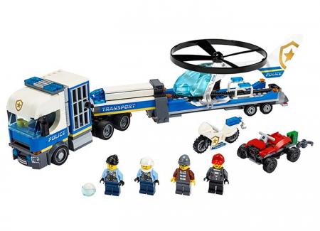 LEGO® City: Transportul elicopterului de politie 602440